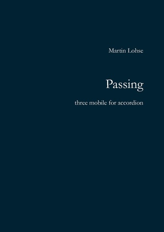 Passing (accordion) - Martin Lohse